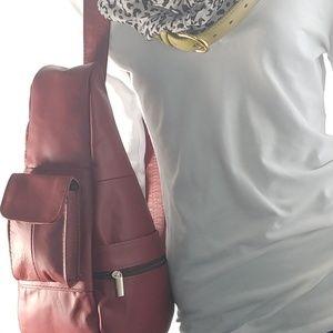 12x15-10 Fleur De Lis canvas messenger bag Western Culture Inspired Ancient Symbol Ornamental Elements Floral Vintage canvas beach bag Indigo Orange